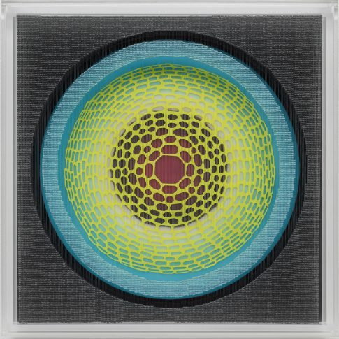 Lea Lenhart/Andrej Henze/Kunstakademie Düsseldorf/Malerei/Perlenbild