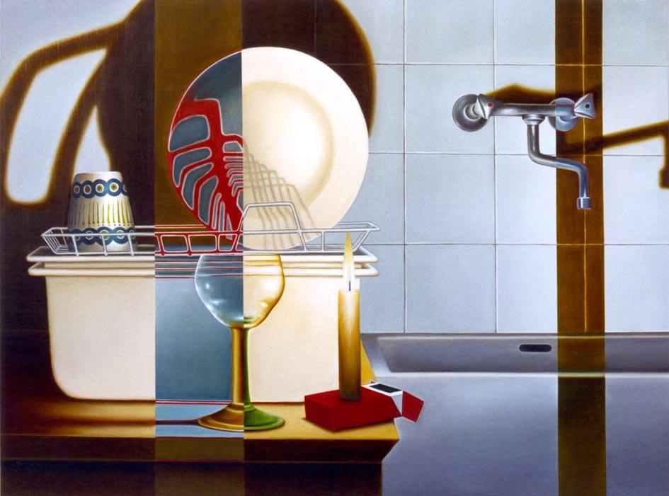 Andrej Henze/Kunstakademie Düsseldorf/Malerei